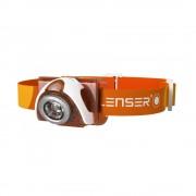 Lanterna profesionala pentru cap Led Lenser SEO3, portocaliu, 100 lumeni, 100 m