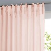 La Redoute Interieurs Cortinado com laços, em puro algodão, Scenariorosado- 260 x 135 cm