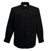 Long Sleeve Poplin Shirt Black