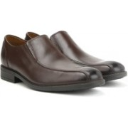 Clarks Truxton Step Dark Brown Lea Lace Up For Men(Brown)