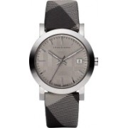 Burberry Light Chocolate1774 Burberry Swiss Made Check Fabric Strap Watch for Men / Unisex Watch Watch - For Men