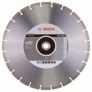 Диск диамантен за рязане Standard for Abrasive, 350 x 20/25,40 x 2,8 x 10 mm, 1 бр./оп., 2608602621, BOSCH