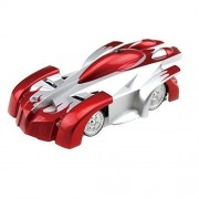 E Mart Children Mini Remote Control Car Kids Electric Toy Rc Vehicle Spiderman Wall Climbing Climber Red