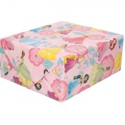 Disney Inpakpapier/cadeaupapier Disney Princess roze 200x70 cm
