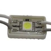 Led modul 5050 chip, 1 led, 0,4W, 40 Lumen,12V, hideg fehér, IP65 vízálló. Life Light Led 2 év garancia!