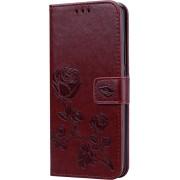 Mobigear Roos Wallet Case Bruin Huawei Mate 20 Pro