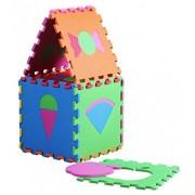 XY 9090 cm Soft Foam Jigsaws Puzzlemats Alphabet & Numbers Jigsaws & Puzzles Playmat Puzzle Letters for kids nursery 36 Pcs(Fruit)