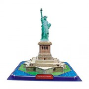 3D Jigsaw Puzzle - Statue of Liberty , U.S.A : Model Parts 39pcs - Ship by Pantos Express (approx 7 ~ 15 Business...