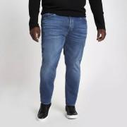 River Island Mens Big and Tall Blue Dylan slim fit jeans (34XXL)