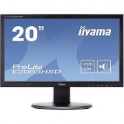 IIYAMA E2083HSD LED 49.5 cm (19.5 ) 1600 x 900 pix WSXGA 5 ms DVI, ...