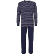 Pastunette Blauwe heren pyjama gestreept