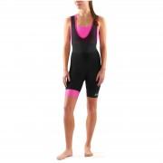 Skins Cycle DNAmic Women's Bib Shorts - Black/Magenta - S - Black/Magenta