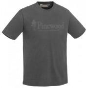Pinewood T-shirt Outdoor Life 5445 (Färg: Mörk Antracit, Storlek: Large)