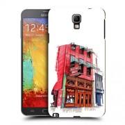 Husa Samsung Galaxy Note 3 Neo N7505 Silicon Gel Tpu Model Old Town Bar