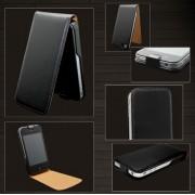 Flip PU Leather Case For iPhone 4 & 4S - Orange