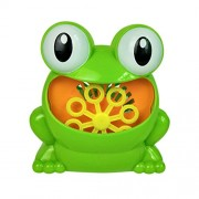 Kawn Portable Cute Frog Automatic Bubble Machine Blower Maker Children Summer Outdoor Camping Toy Play Fun