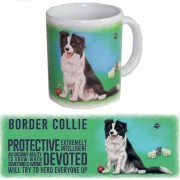 123 Kado koffiemokken Border Collie thee mok 300 ml
