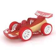 Hape Bamboo Mini Mighty Racer Toy Car