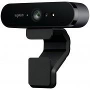 Camera web Logitech BRIO USB EMEA Negru