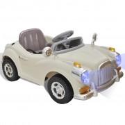 vidaXL Elemes / Elektromos kisautó Ride On Játék Autó (Drapp)