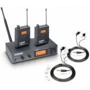 Sistem dublu monitorizare in-ear LD Systems MEI 1000 G2