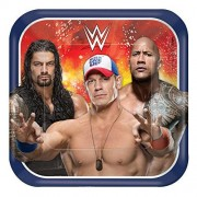 amscan WWE Party Dinner Plates (8ct)