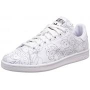 adidas Originals Women's Stan Smith Ro W Ftwwht, Ftwwht and Cblack Leather Sneakers - 7 UK/India (40.7 EU)