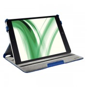 Carcasa LEITZ Complete Smart Grip, cu capac pentru iPad Air - bleumarin