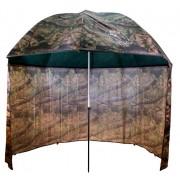 Dáždnik PVC s predlženou bočnicou250cm/kamufláž