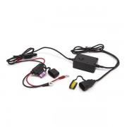 USB motoros adapter biztosítékkal, cseppálló 2,1A 20340