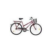 Bicicleta Onix FV Aro 26 Vermelha - Houston