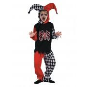 Vegaoo.es Disfraz de arlequín sangriento niño - S 4-6 años (110-120 cm)