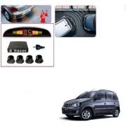 Auto Addict Car Black Reverse Parking Sensor With LED Display For Mahindra Quanto