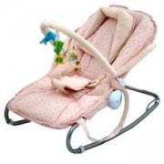 Бебешки шезлонг - розов, AZARIA, 503115945
