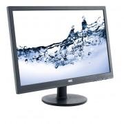 AOC Monitor 24 e2460Sh LED DVI HDMI Głośniki Czarny