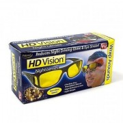 HD Wrap Night Vision Real Club Night View Driving Glasses Yellow Color Glasses Pack of 1 (AS PER SEEN ON TV)