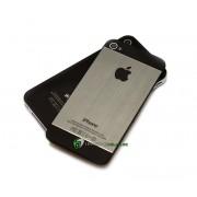 iPhone 4S Bakstycke Borstad Svart BT (Grå)