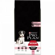 Purina Pro Plan Medium Puppy Piele Sensibila cu Somon 12 kg