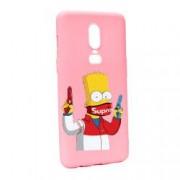 Husa de protectie Supreme The Simpsons pentru OnePlus 6 Silicon P270
