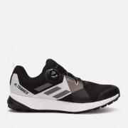 adidas Men's Terrex Two Boa Gore-Tex Hiking Shoes - Black - UK 8 - Black