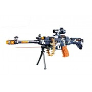 Ashoka Musical Army Style Toy Gun for Kids with Music, Lights and Laser Light