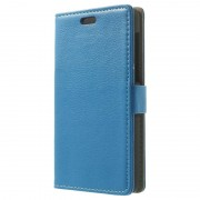 Huawei Honor 6 Wallet Leather Case - Blue