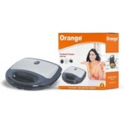 Orange Electric Sandwich Maker/ Toaster Toast(Black)
