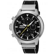 Ceas barbatesc Haemmer HF-01C Authentic Cronograf Limited 999 Buc. 50mm 10ATM