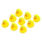 Rubber Duck Bath Toys have fun with the yellow ducklings in the bath tub - perfect for 19+ months old babies to make friends and stories with ducks in the tub!