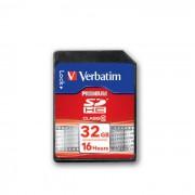 Card Verbatim SDHC 32GB Clasa 10