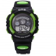OTS 833 Niños Multifunción LED Reloj Digital Resistencia Al Agua Reloj Deportivo Para Niña