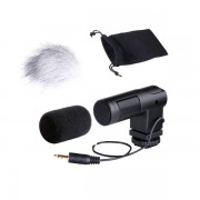 BOYA BY-V01 Stereo X/Y Mini Condenser Microphone for Canon Nikon Pentax Sony DSLR Camcorder