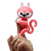 ARE Fingers Interactive Baby Squirrel, Pet Kids Smart Colorful Fingers Smart Induction Electronic Toys, Mini Smart Sensor Finger Squirre Toy Plaything Bauble for Kids Children (color may vary)