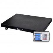 vidaXL Vezeték nélküli 300kg kapacitású wireless platós mérleg+ belső akku